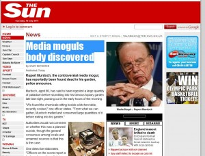 The Sun Newspaper – Hacked?