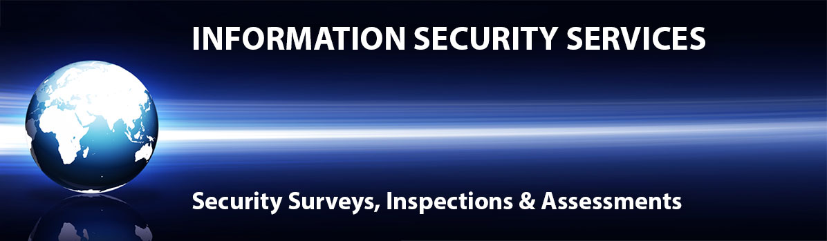 We offer information security services