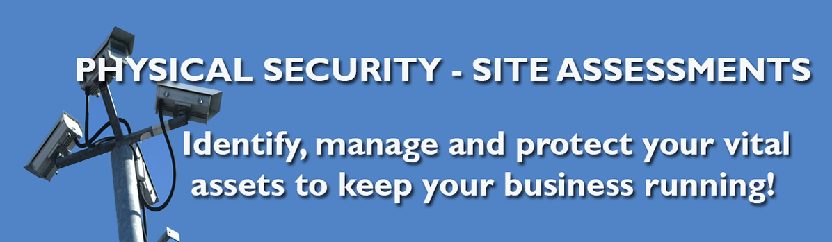We offer physical security services