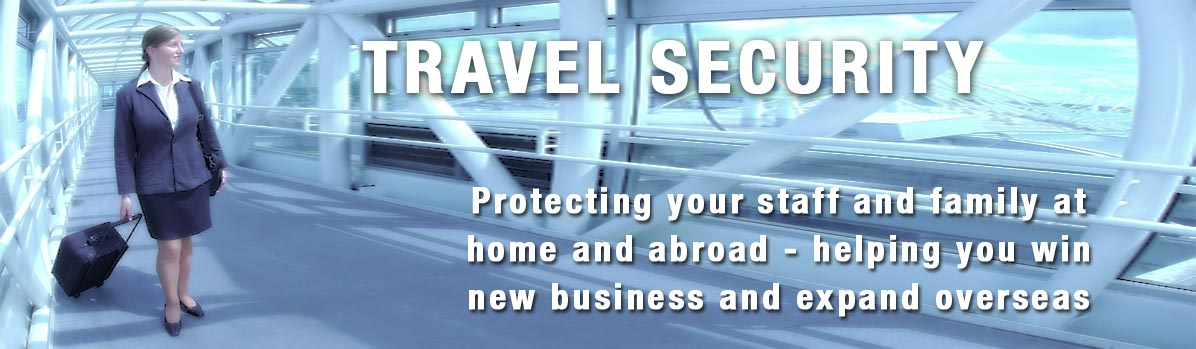 We provide travel security advice to keep you, and your VIPs safe